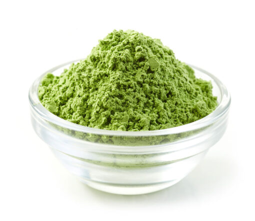 green riau powder