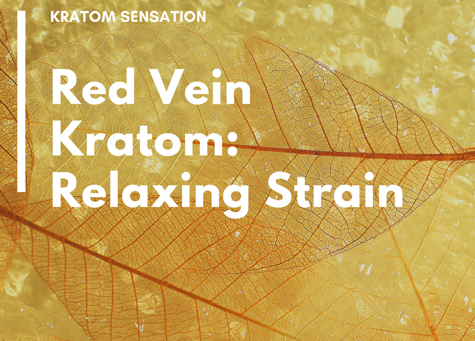 Red Vein Kratom: Relaxing Strain