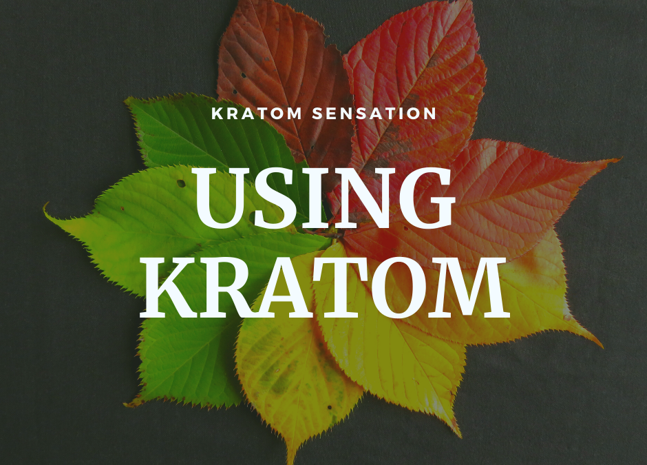 Using Kratom Incense For Your Well Being